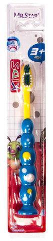 """Зубная щётка детская [бабочка/машинка] NAYALER (""""Машинка"""")"""