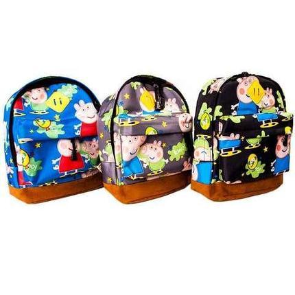 Рюкзак детский «Свинка Пеппа» (Разноцветный), фото 2