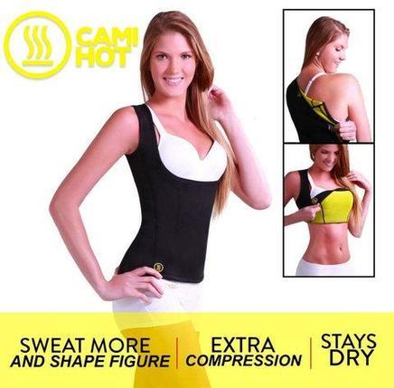 Майка-корсет CAMI HOT для похудения от Hot Shapers (XXL), фото 2