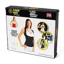 Майка-корсет CAMI HOT для похудения от Hot Shapers (XXL), фото 3