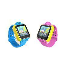 Умные часы детские с трекером GPS, камерой и сенсорным экраном Smart Baby Watch V83 (Голубой), фото 2
