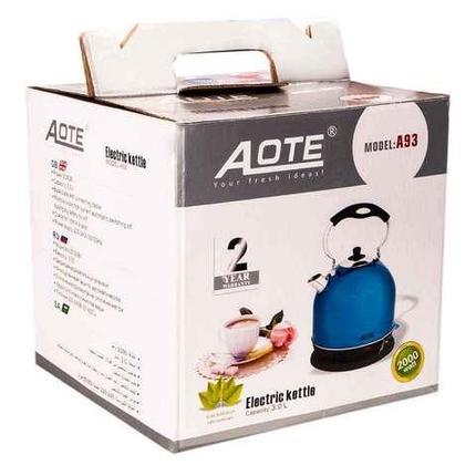 Чайник электрический AOTE A93 [3 литра] (Красный), фото 2