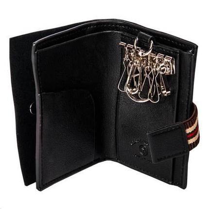 Кошелек-ключница BOVI'S D09113 (Черный), фото 2