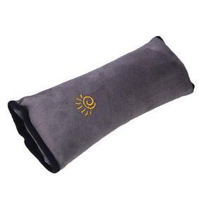 Подушка-накладка на ремень безопасности автомобиля HeroRider для детей (Серый)