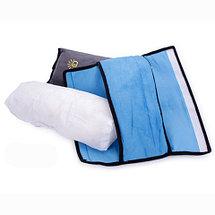 Подушка-накладка на ремень безопасности автомобиля HeroRider для детей (Серый), фото 3