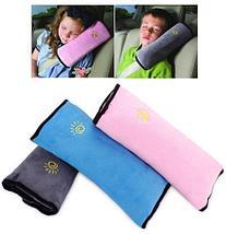 Подушка-накладка на ремень безопасности автомобиля HeroRider для детей (Розовый), фото 2