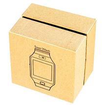 Умные часы [Smart Watch] с SIM-картой и камерой DZ09 (Золотистый с коричневым), фото 3