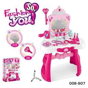 Трюмо для девочек с аксессуарами (008-907, Трюмо с аксессуарами So, fasion you)