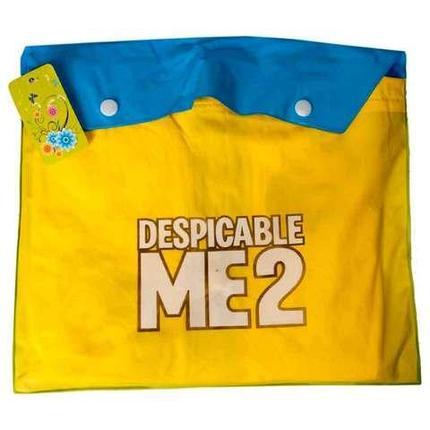 """Дождевик детский из непромокаемой ткани с капюшоном (L / """"Миньоны""""), фото 2"""