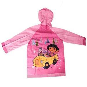 """Дождевик детский из непромокаемой ткани с капюшоном (M / """"Дора"""")"""