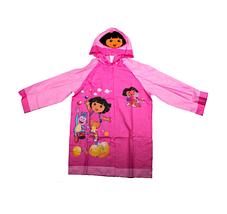 """Дождевик детский из непромокаемой ткани с капюшоном (XL / """"Свинка Пеппа""""), фото 2"""
