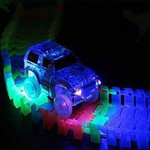 Конструктор с гнущейся трассой и светящейся машинкой Magic Track [160, 220, 360 деталей] (360 деталей), фото 3