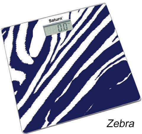 Весы напольные электронные Saturn (Zebra)