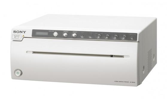 UP-991AD Аналоговый и цифровой принтер формата А4 для монохромной печати на термобумаге и голубой термопленке