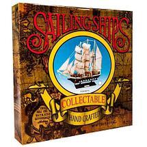 Парусник в миниатюре из дерева «Sailing ships» (Большой), фото 3