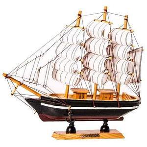 Парусник в миниатюре из дерева «Sailing ships» (Маленький)