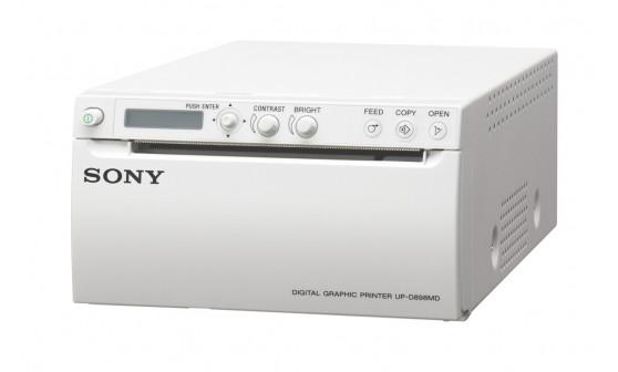 UP-X898MD Аналоговый и цифровой черно-белый видеопринтер формата A6 (для УЗИ)
