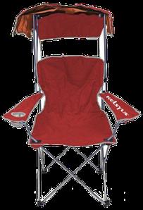 Кресло складное с козырьком «Kelsyus» (Красный)