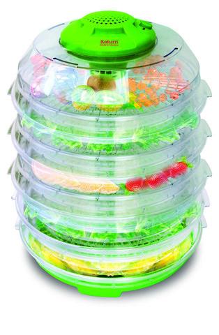 Сушилка для овощей и фруктов электрическая Saturn ST-FP0113  [6, 10 ярусов] (6 ярусов)