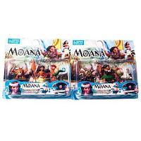 Набор игрушек-героев мультфильма «Моана» [3 персонажа] (Набор с полубогом Мауи)