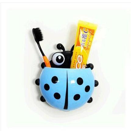 Держатель для зубных щёток «Божья коровка» (Голубой), фото 2