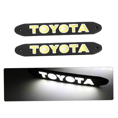 Дневные ходовые огни в форме логотипа 1521Y (Toyota)