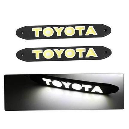 Дневные ходовые огни в форме логотипа 1521Y (Toyota), фото 2