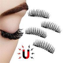 Магнитные накладные ресницы Newshow 3D Mink Hair Lashes (015), фото 2