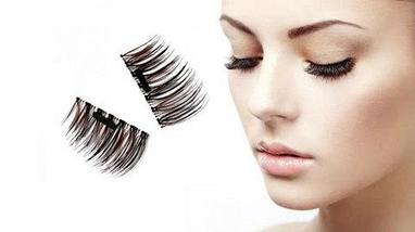 Магнитные накладные ресницы Newshow 3D Mink Hair Lashes (015), фото 3