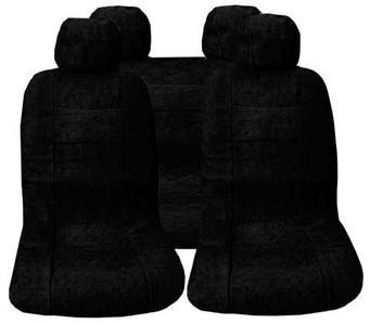 Комплект чехлов для автомобильных кресел FOTA (Черный)