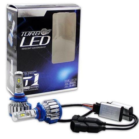 Лампы светодиодные для автомобиля с кулером «TURBO LED» (H4 Hi/Lo)