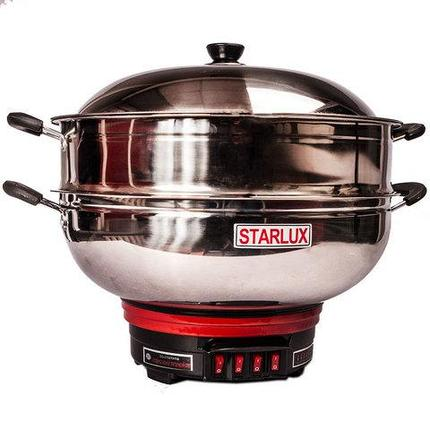 Котёл электрический многофункциональный STARLUX SL-1638 [1800 Вт] (36 см), фото 2