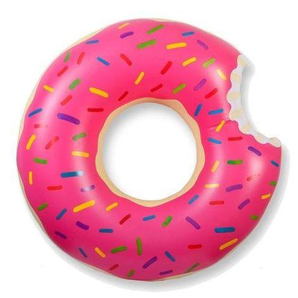 Круг надувной «Пончик» [60; 70; 80; 90; 120 см] (90 см / Розовая глазурь), фото 2