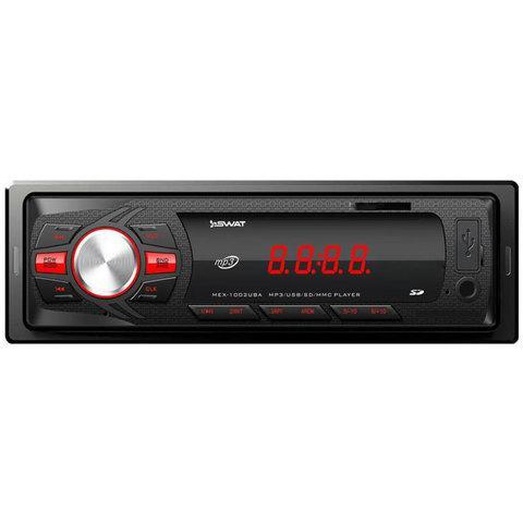 Автомагнитола SWAT MEX-1002UBA [MP3, SD, USB, FM] (2*35 Вт)