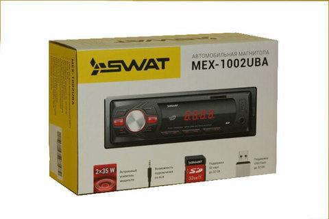 Автомагнитола SWAT MEX-1002UBA [MP3, SD, USB, FM] (4*35 Вт), фото 2
