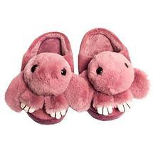 Тапочки детские домашние в виде зайчиков «Fashion» (32-33 / Светло-розовый), фото 3