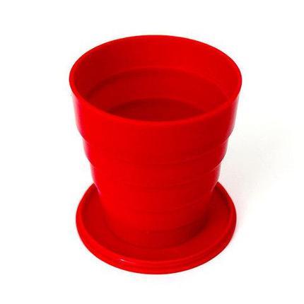 Стаканчик складной «СССР» [150 мл.] (Красный), фото 2