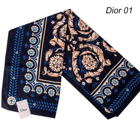 Шарф-палантин Dior [шерсть, вискоза] (Dior 01)