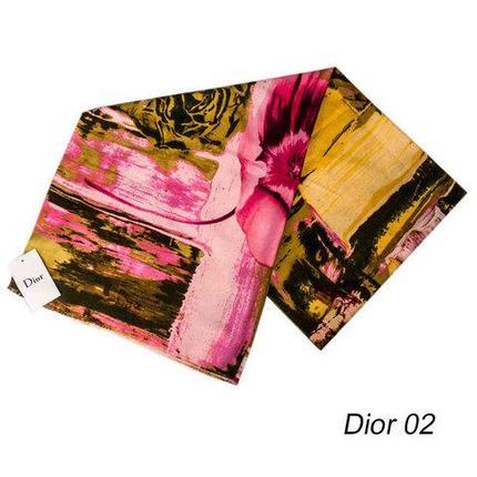 Шарф-палантин Dior [шерсть, вискоза] (Dior 02), фото 2