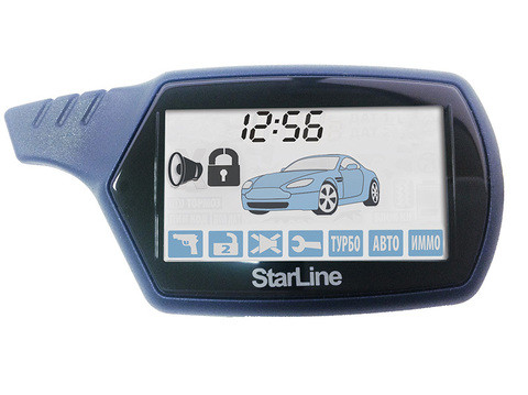 Брелок запасной с ЖК дисплеем для автосигнализаций StarLine (MOTO V7)