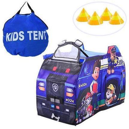 Детская палатка для игр «Щенячий патруль» (Синий), фото 2