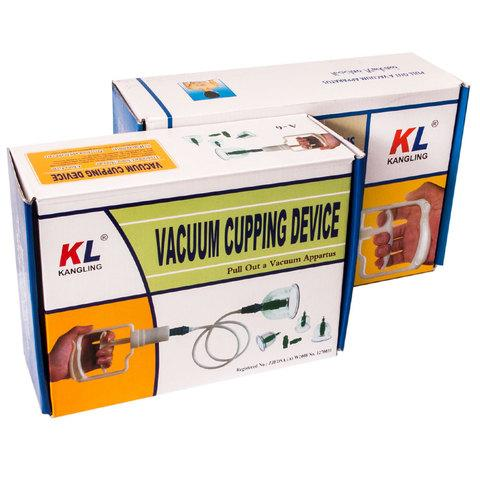 Набор вакуумных массажных банок KANGLING [6, 12] (12 банок)