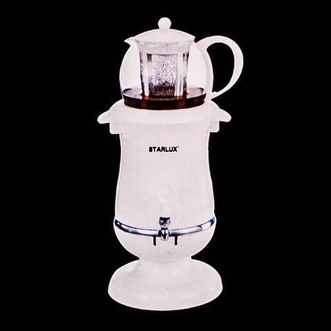 Самовар-термопот электрический со стеклянным заварочным чайником STARLUX SL-2510 [2.5 л; 1800 Вт]