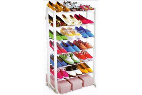 Стеллаж для обуви AMAZING SHOE RACK [4, 7 полок] (21 пара)