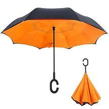 Чудо-зонт перевёртыш «My Umbrella» SUNRISE (Небо), фото 2