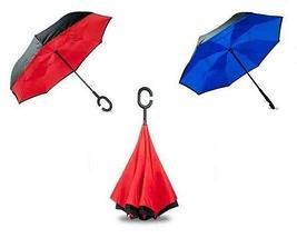 Чудо-зонт перевёртыш «My Umbrella» SUNRISE (Павлин), фото 2