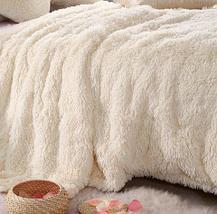 Плед-покрывало с длинным ворсом «Травка» Blumarine (Белый), фото 3