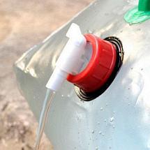 Канистра для воды складная [10, 15 литров] (15 литров), фото 2