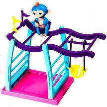Интерактивная игрушка-обезьянка Fun Monkey (Фиолетовый), фото 3