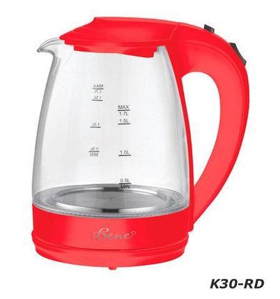 Чайник электрический Bene K30 [1.7 л] (K30-LC (фиолетовый)), фото 2